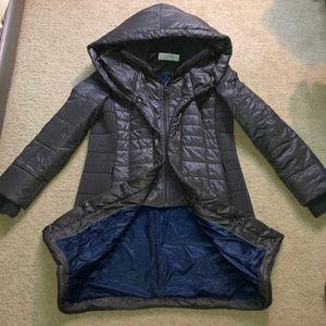 T Tahari puffer coat